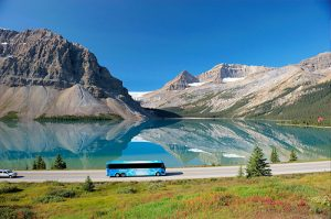 Bus tours Canadian Rockies