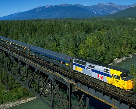 Via Rail tours by Key West Travel